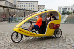 Berlin Taxi Bike Image stock