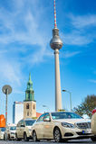 Berlin taxi Royalty Free Stock Photo