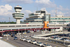 Berlin Tegel Airport Photos libres de droits