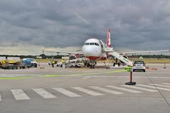 Berlin Tegel Airport Photo libre de droits