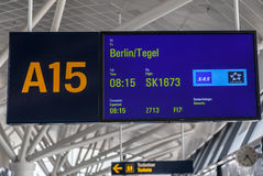 Berlin Tegel Airport Stock Photos