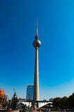 Berlin Television Tower Stockfotos