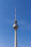 Berlin television tower at Alexanderplatz Stock Photography