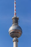 Berlin television tower at Alexanderplatz Stock Images