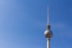 Berlin television tower at Alexanderplatz Royalty Free Stock Image