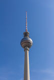 Berlin television tower at Alexanderplatz Royalty Free Stock Photo