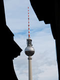 Berlin television tower, Germany Stock Photos