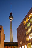 Berlin television tower, Germany Royalty Free Stock Image