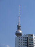 Berlin Television Tower Stock Photography