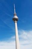 Berlin televisiontorn, Tyskland Arkivbilder