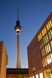 Berlin televisiontorn, Tyskland Royaltyfri Bild