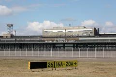 Berlin Tempelhof airport. Abandoned Berlin Tempelhof airport, Germany Stock Photography