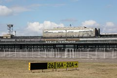 Berlin Tempelhof airport Stock Photography