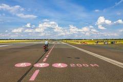 Berlin Tempelhof Airport, ancien aéroport de Berlin, Allemagne Image stock