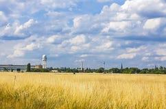 Berlin Tempelhof Airport, ancien aéroport de Berlin, Allemagne Images libres de droits