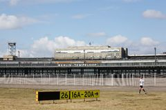 Berlin Tempelhof airport, Germany Stock Image