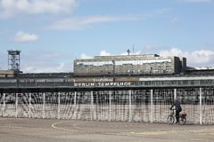 Berlin Tempelhof airport in Germany Royalty Free Stock Photography