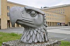 Berlin Tempelhof Airport histórico: Eagle Square Imagem de Stock Royalty Free