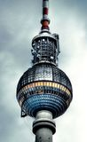 Berlin tower. This is the Broadcast-tower in berlin, germany royalty free stock photos