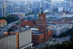 Berlin. Town hall. Travel in Germany. Berlin. View. Rathaus Royalty Free Stock Photos
