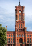 Berlin Town Hall (Rathaus) in Germany Royalty Free Stock Image