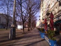 Berlin townscape. View urban landscape royalty free stock photos