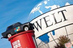 символ berlin восточный trabant Стоковое Изображение