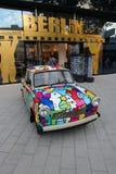 Berlin Trabant Immagine Stock Libera da Diritti
