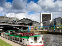 Berlin train station at Friedrichstrasse, Germany Royalty Free Stock Photography