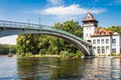 Berlin Treptow - Insel de Jugend Lizenzfreies Stockbild