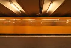 berlin tunnelbana Arkivbild