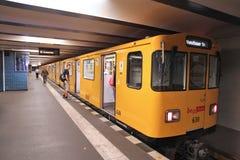 Berlin tunnelbana Royaltyfri Bild