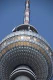 Berlin TV Tower. Landmark of Berlin - TV Tower Stock Photo