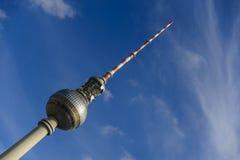 The Berlin TV Tower Stock Photo
