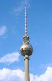 Berlin TV Tower. On Alexanderplatz Royalty Free Stock Photography