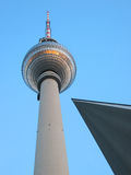 Berlin TV tower Royalty Free Stock Photos