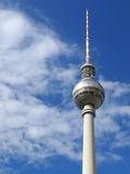 Berlin Tv Tower Berliner Fernsehturm Germania Immagine Stock Libera da Diritti
