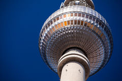 Berlin TV Tower. The famous TV tower of Berlin Stock Photography