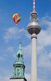 Berlin tv tower -  fernsehturm Royalty Free Stock Photos