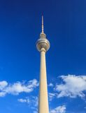 Berlin TV Tower - Germany Royalty Free Stock Photo