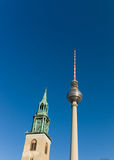 Berlin TV Tower, Germany Stock Image
