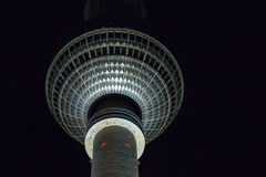 Berlin TV-Tower Royalty Free Stock Photography