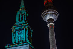 Berlin TV Tower Stock Photos
