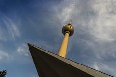 Berlin TVtorn Royaltyfri Fotografi