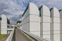 BERLIN TYSKLAND - JULI 2015: Bauhausen Archiv i Berlin German arkivbild
