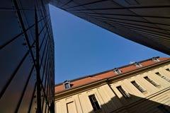 Berlin Tyskland, 13 Juni 2018 Museum för JÃ-¼disches royaltyfria bilder