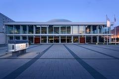 Berlin Tyskland - Maj 11, 2016: Berlin Congress Centre placerade Arkivbilder
