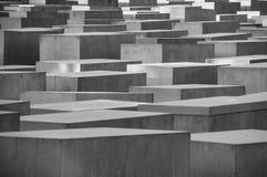 BERLIN TYSKLAND, Maj 10 2016, förintelseminnesmärke Arkivbilder