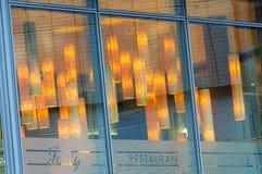 BERLIN TYSKLAND, Maj 10 2016, Josty restaurang och Caffe Royaltyfri Fotografi