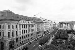 BERLIN TYSKLAND Oktober 7, 2016: Gendarmenmarkten är en fyrkant Royaltyfri Bild
